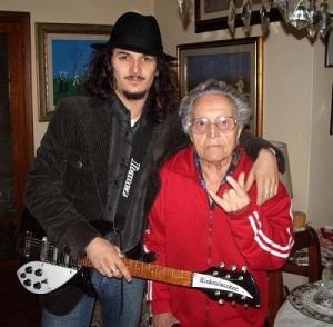 con Nonna Rolanda