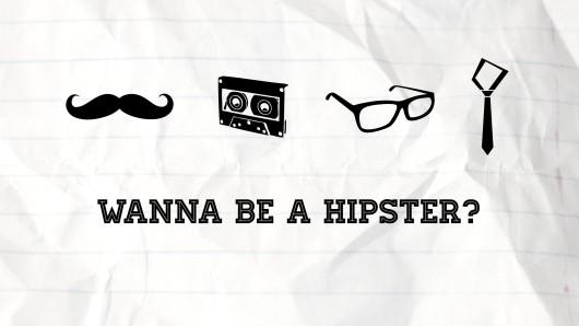 hipster coi baffi