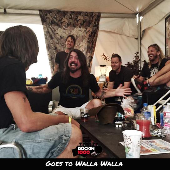 foo fighters walla walla