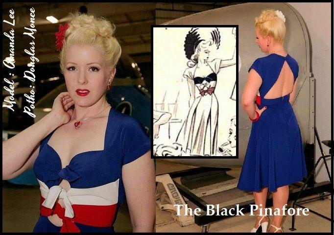 the black pinafore moda