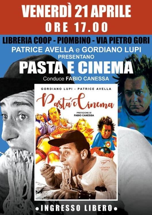 locandina pasta e cinema